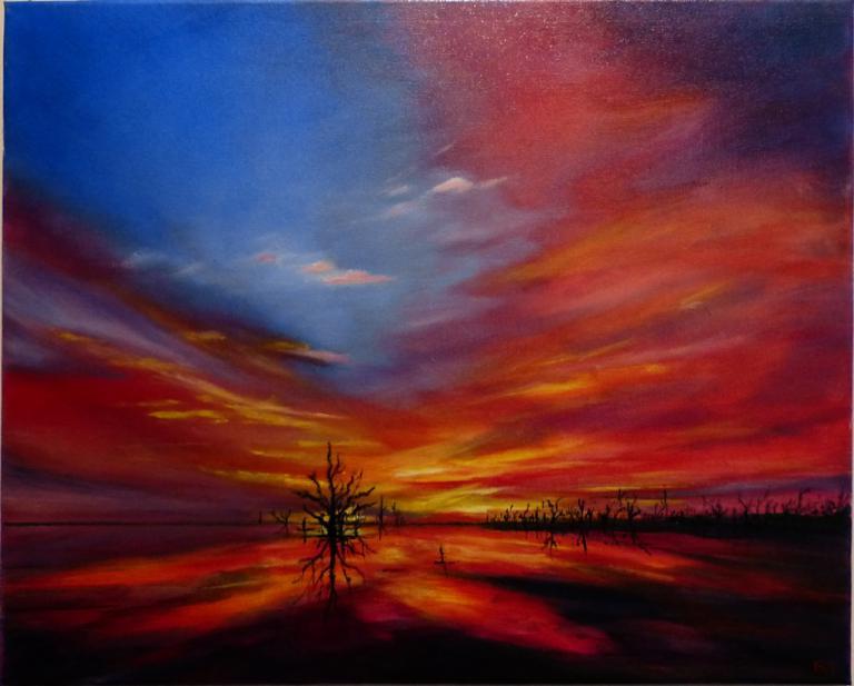 Barbara Acworth: Sunset