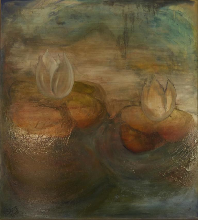 Robyn Sharp: Waterlilies