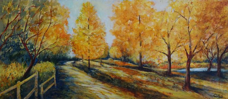 Christine Anne Kelly: Autumn Light