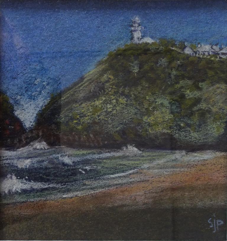 Sue Johnstone Prescott: Lighthouse, Smokey Cape, NSW