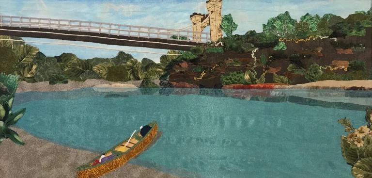 17.Canoeing at The Hampden Bridge