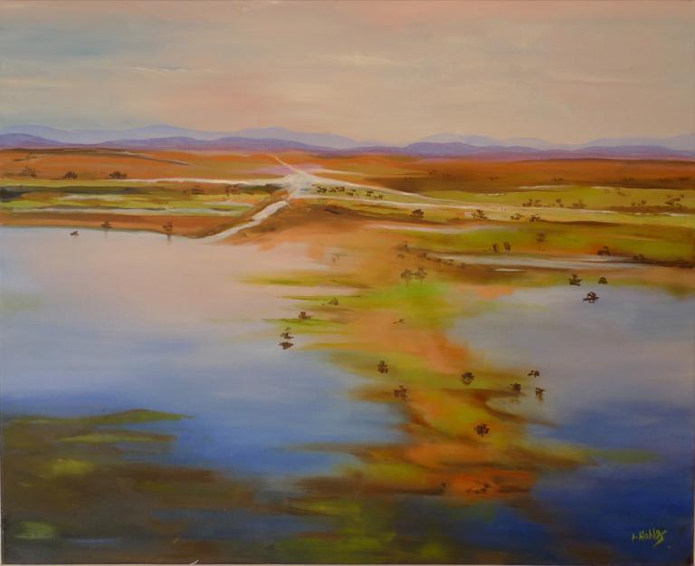 Larraine Hahlos: Kakadu Wetlands