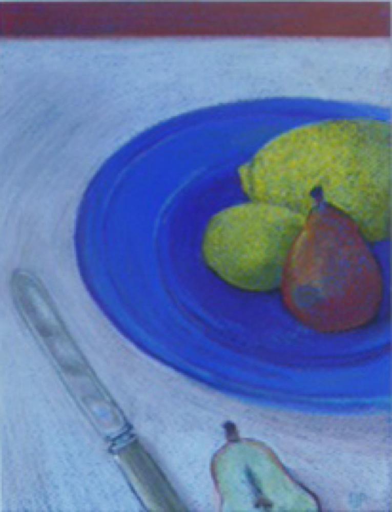 Sue Johnstone Prescott: The Blue Bowl