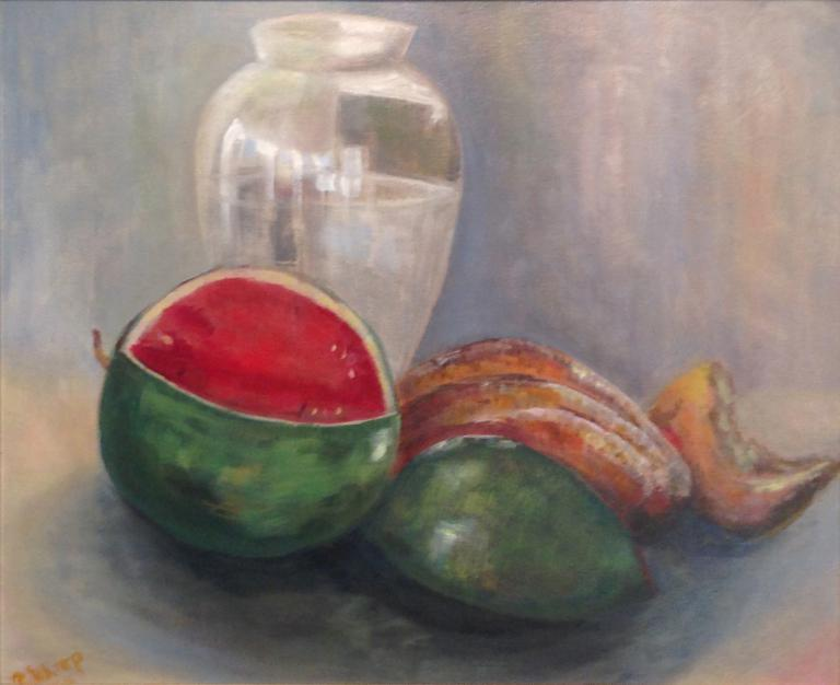 Robyn Sharp Still Life with Melon