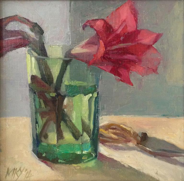 Myriam Kin-Yee: Yoga Lily