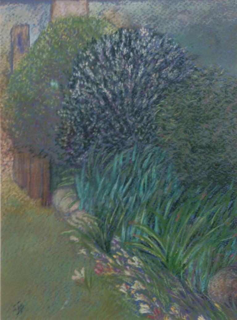 Sue Prescott: Garden after Spring Rain