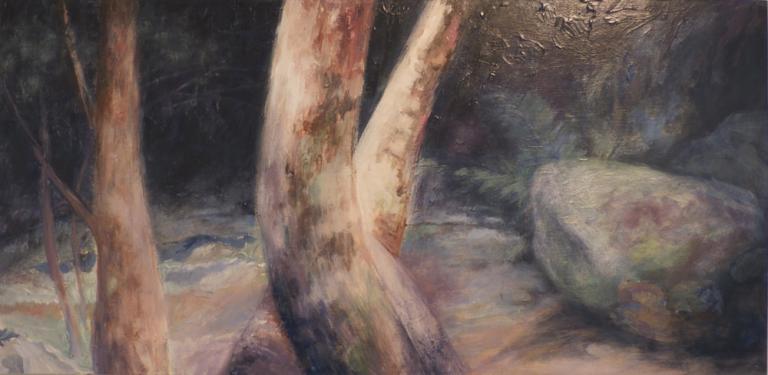 Christine Ann Kelly: Rainforest Path I