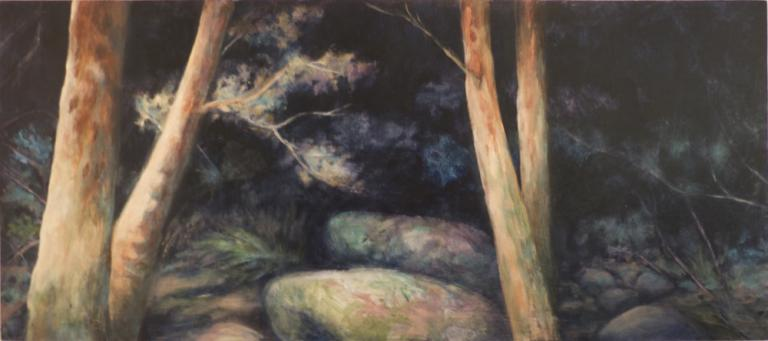 Christine Ann Kelly: Rainforest Path II