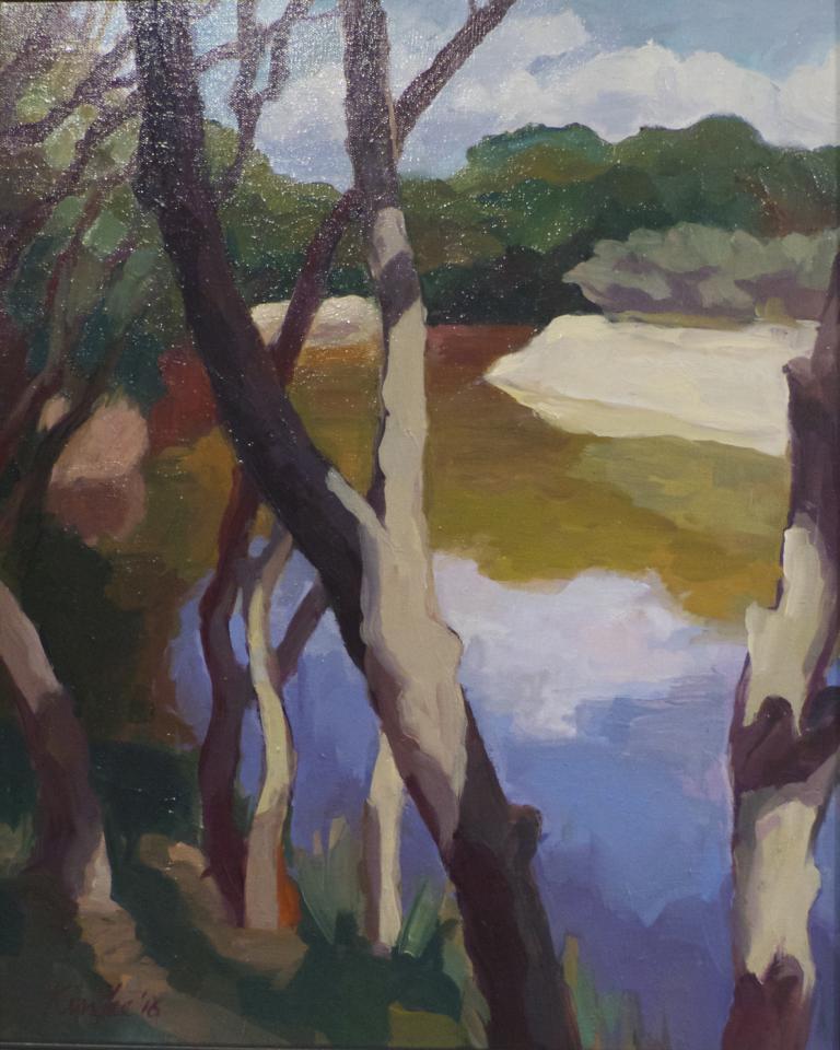 Myriam Kin-Yee: Greenpatch Lagoon, Jervis Bay