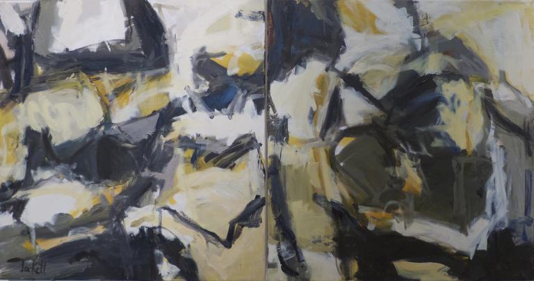 Carla Jackett: Imagined – Diptych