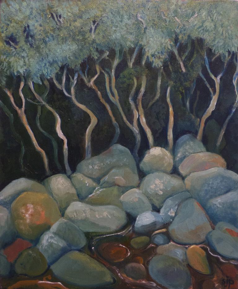 Sue Johnstone Prescott: Water Gums, Brogers Creek
