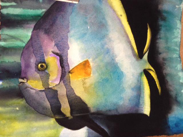 Annie McCarron: Moody Blues