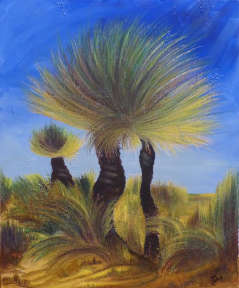 Jo Novich: Grass Trees