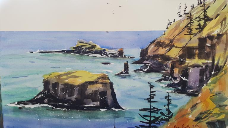 Eve Smith: Norfolk Island Lookout