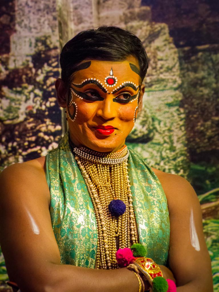 Sue Williamson: Kathakali Dancer