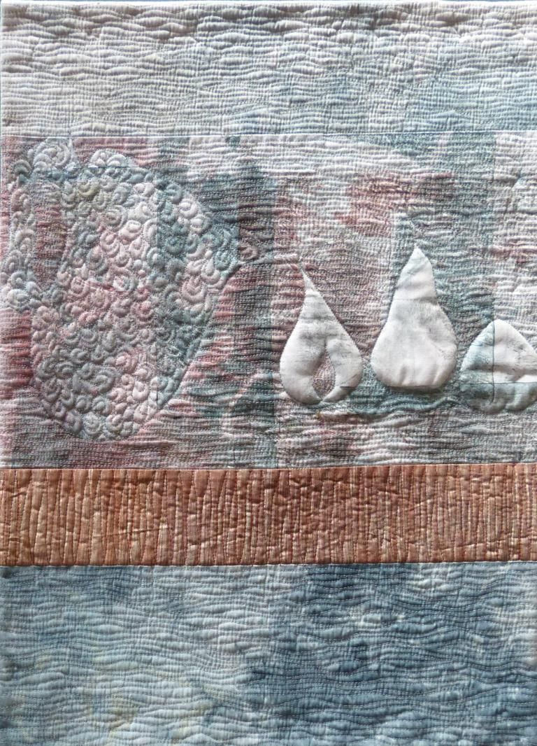 Carolyn Collins: Stitched Life in Blue