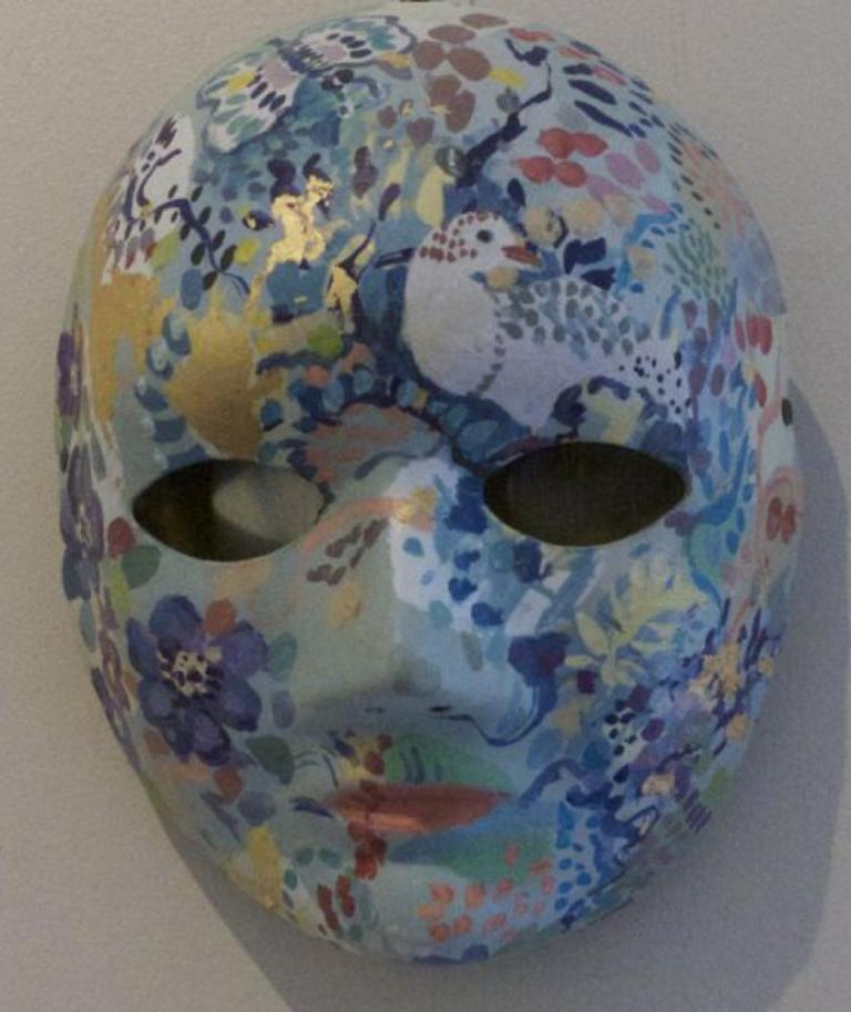 Tish Banks: Blue Grey Mask