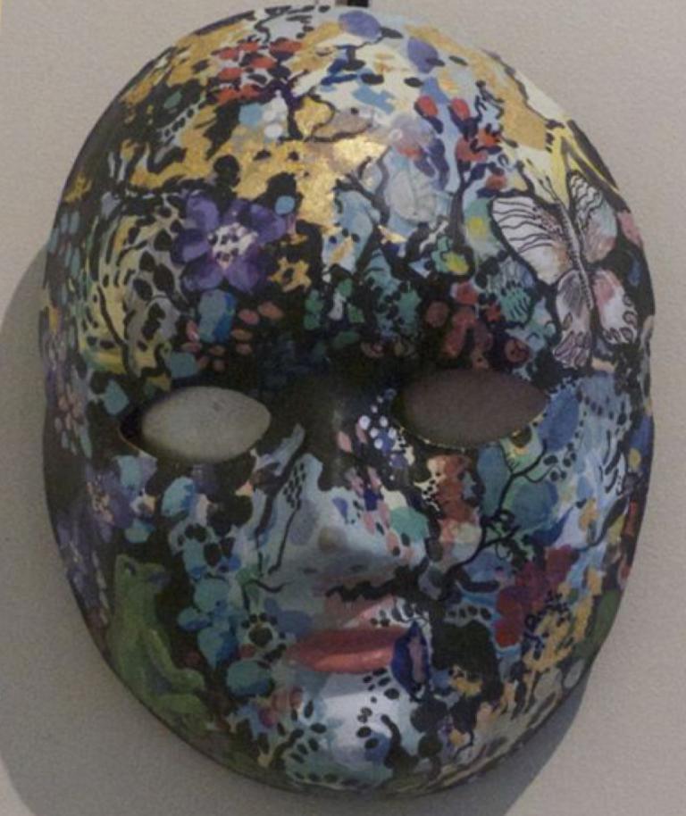 Tish Banks: Dark Grey Mask