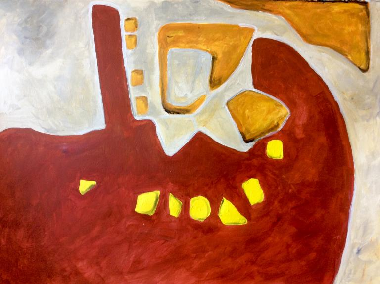 Lynda Fraser: The Duck Pond, Mittagong