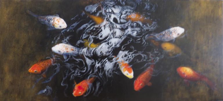 Christine Kelly: Koi Pond