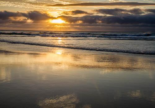 Sue Williamson: Sunset on Fraser Island