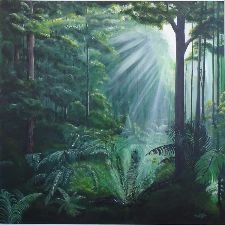 Merrin Jeff: Morning Rainforest
