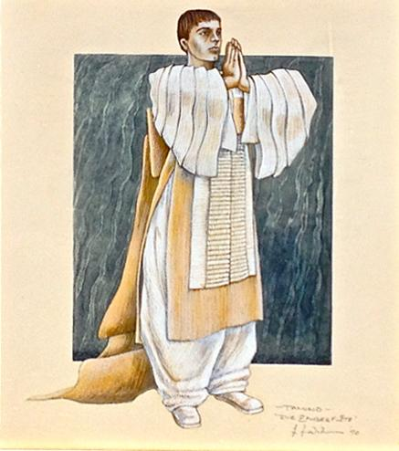 Jim Birkett: Tamino: Costume Design for The Magic Flute by Kristian Fredrikson