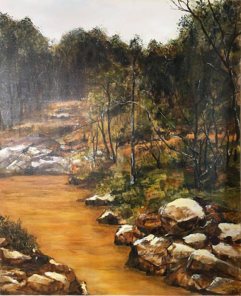 Barbara Ackworth: Forest Billabong