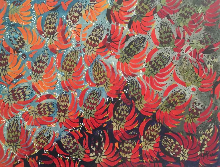 Lynda Fraser: Coral Trees