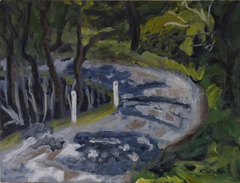 Kaye Johnston: Wattamolla Road Bend