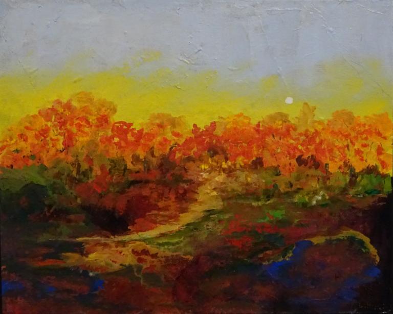 Larraine Hahlos: Autumn Haze