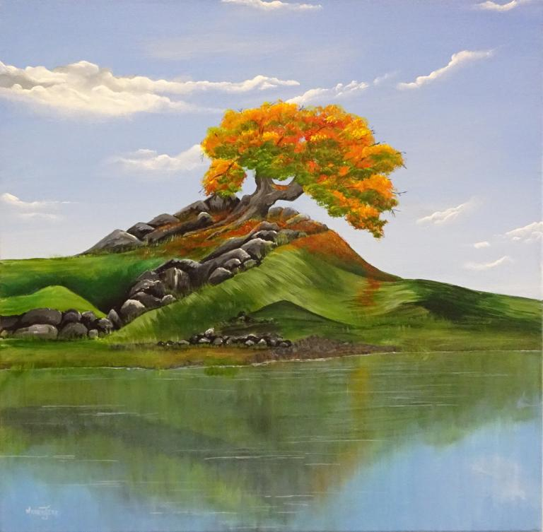 Merrin Jeff: Autumn on Rock Hill