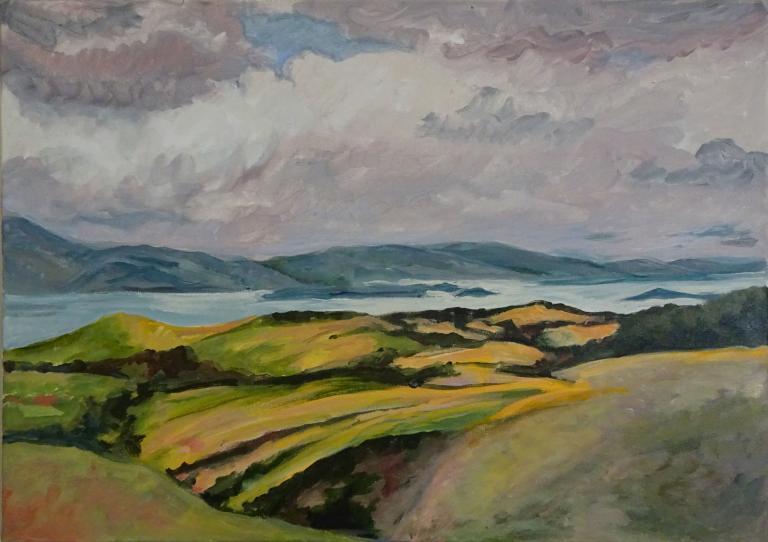 Jenny Thompson: The Otago Peninsular in Autumn