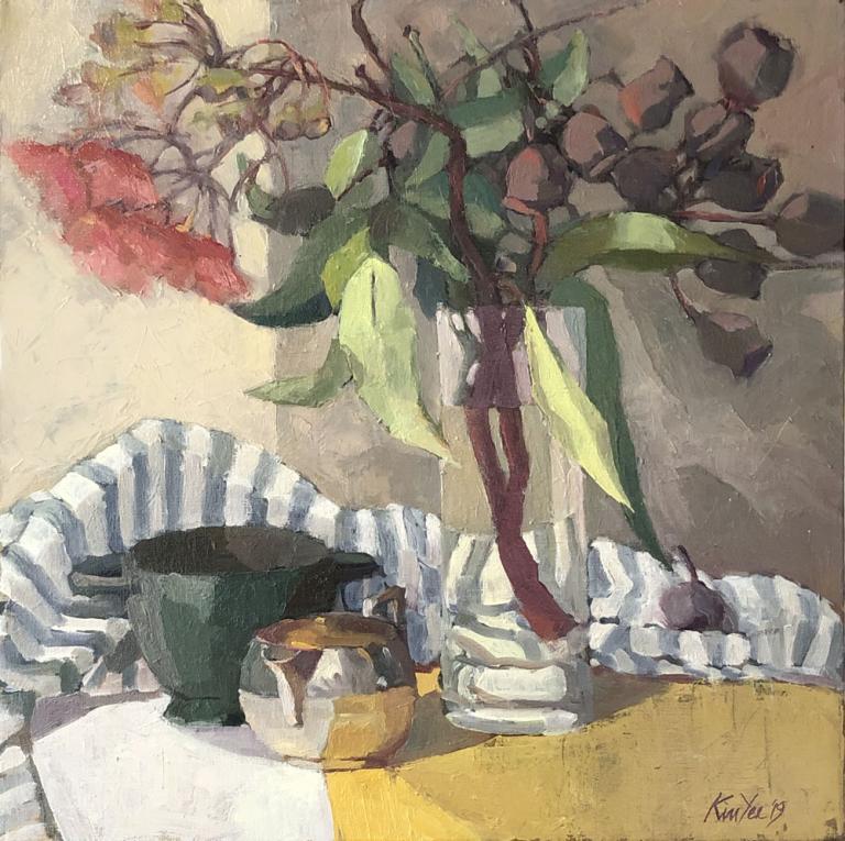 Myriam Kin-Yee: Gumnuts in Stripes
