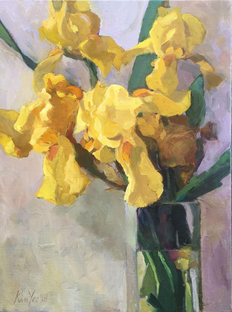 Myriam Kin-Yee: Philip's Yellow Irises