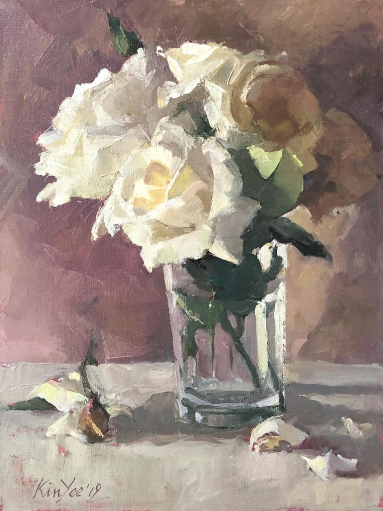 Myriam Kin-Yee: White White Roses