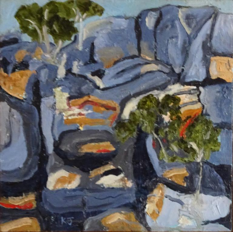 Kaye Johnston: Escarpment