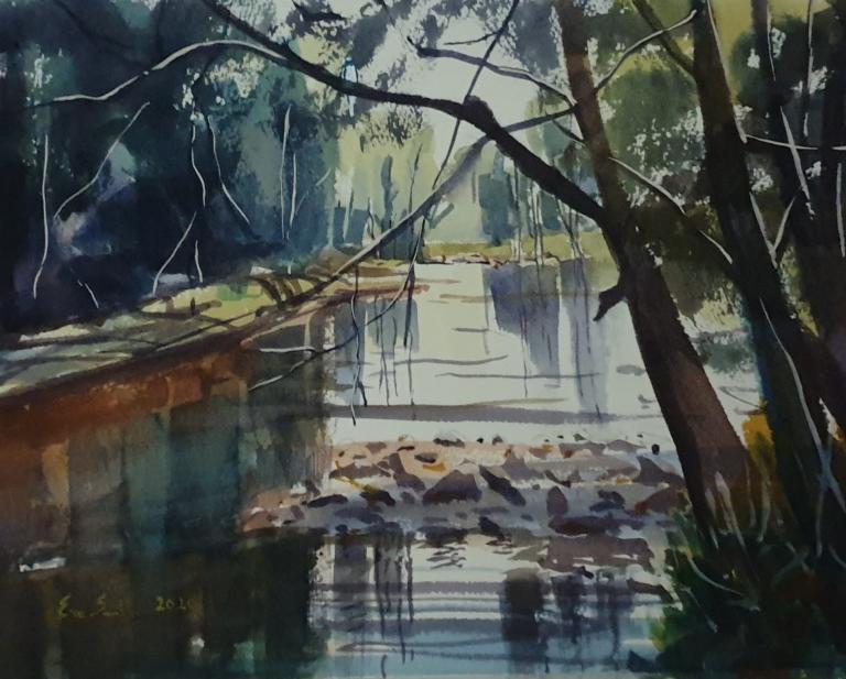 Eve Smith: Sacred Kingfisher Brogers Creek