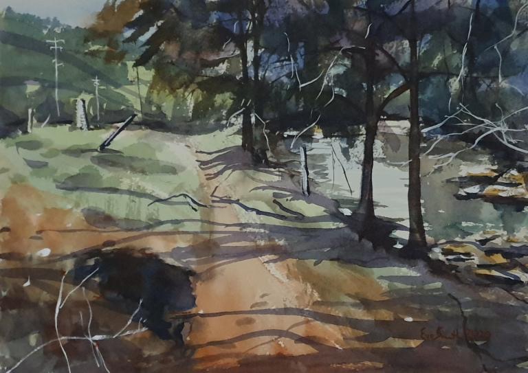 Eve Smith: Wombat Hole alongside Brogers Creek